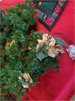 HOLIDAY GARLAND, 1 IS APPROXIMATELY 5', OTHER 2
