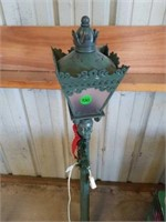 """APPROXIMATELY 49"""" HIGH LIGHTED LAMP POST, PLASTIC"""