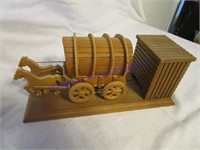 2 COVERED WAGONS