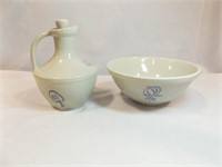 Pottery Bowl, Jug