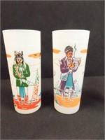 Blue Eagle, Oklahoma Indian, Knox Glasses