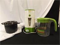 Iced Tea Maker, Pitcher, Pampered Chef Bowl