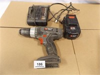 Porter Cable Drill, Charger, Battery