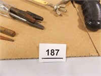 Pipe Wrenches, Saws, Bits, File