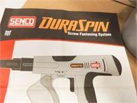 Senco DuraSpin Screw Fastening System