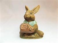 Tim Wolfe Baseball Rabbit Figurines (4)