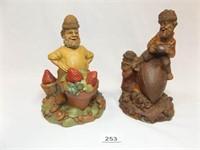 Tom Clark Figurines (2)