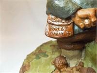 Tom Clark Gnome Figurines (2)