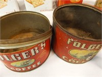 Tins - some old (12+)