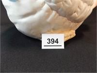 """Chicken Cookie Jar, Ceramic, 11"""""""
