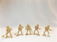 """Toy Soldiers 4"""" - tan (5)"""