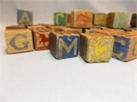 """Wood Letter / Picture Blocks, 1¼"""" (50+)"""