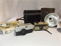 Cameras, Bulbs, Cases