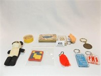 Key Chains, Cards, Games (10)