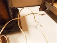 Wood Lamp Bases (2), Magazine Rack