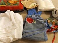 Linens - Various- Kitchen, Shower, Bedspread