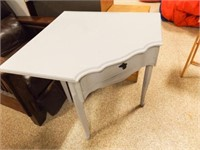 """Corner Table, Painted, 30"""" x 33"""""""