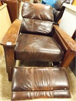 Wood Frame Recliner, condition issues