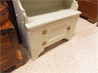 Wood Painted Cabinet