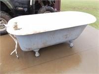 Cast Iron Clawfoot Bathtub