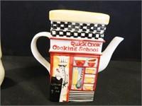 Cat Bank; Teapot; Animal Figurine