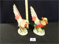 Bird Figurines; Made in Japan