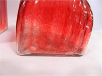Glass Canister Set; 3-Piece