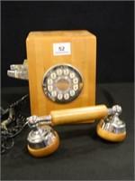 Western Electric Wood Telephone