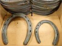 Flat Horseshoes; 3/16 x 9/16; Size 2