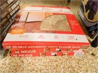 """Nexus Vinyl Floor Tiles; 12"""" x 12"""""""