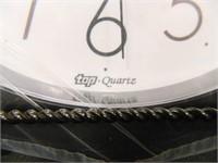 Top Quartz Wall Clock-Ther-a-Pedic
