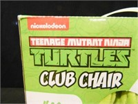Turtles Club Chair; Ages 3-6
