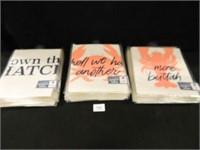 Poster Packs-(6); Lobster Bibs-(60+)