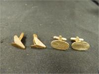 Tie Tacks; Cuff Links; Assorted
