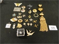 Pendants; Pins; Charms; (31) Items