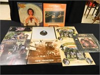 Country Groups; Vinyl Records