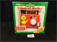 Sesame Street Musical Radio
