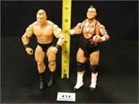 Tyrus aka Brodus Clay; Brock Lesnar