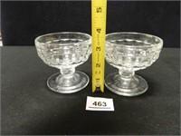 Dessert Cups; (5)