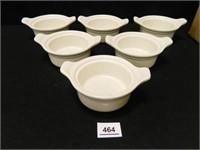 Syracuse China Bowls; (6)