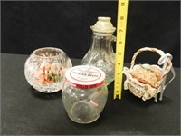 Containers; Jars; Pitcher; Basket