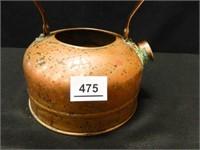 Garlic Baker; Copper Teapot-no lid