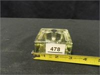 TWN Co. Glass Inkwell Pen Stand