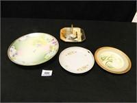Decorative Plates; (4); Assorted