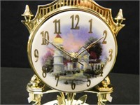 Thomas Kinkade Clock
