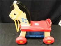 Fisher Price Roll-Around Horse