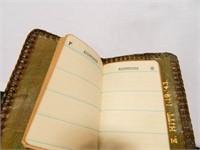 Tooled Leather Address Book 1943