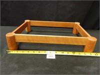 Corningware Roaster w/Wood Holder