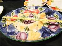 Serving Platters-2; Plates-2