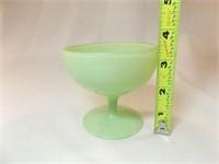 """Jadeite Dessert Cup, 3½"""""""